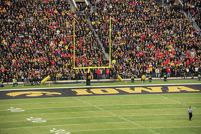 Photograph - 10729 Kinnick Stadium by Pamela Williams