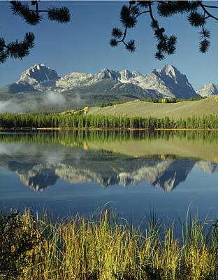 Photograph - 107301 Sawtooth Reflect by Ed Cooper Photography