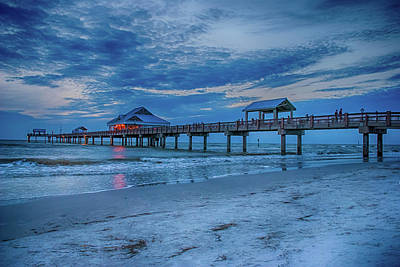 Photograph - 10736 Clearwater Pier 60 by Pamela Williams