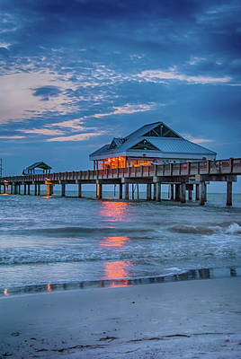 Photograph - 10737 Clearwater Pier 60 by Pamela Williams