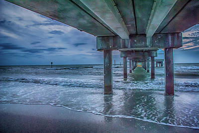 Photograph - 10738 Clearwater Pier 60 by Pamela Williams