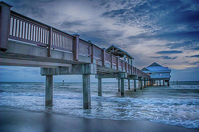 Photograph - 10739 Clearwater Pier 60 by Pamela Williams