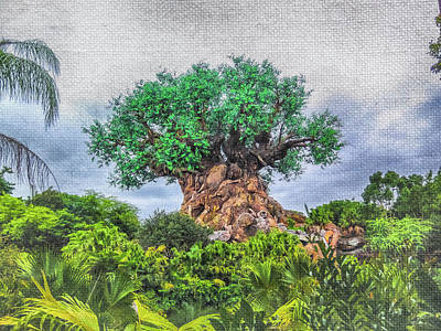 Mixed Media - 10776 Tree Of Life by Pamela Williams