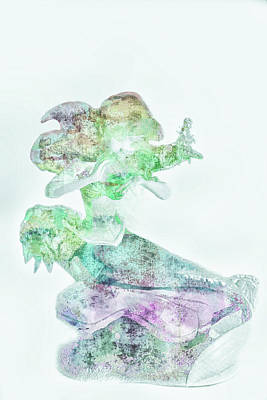 Mixed Media - 10791 Mermaid by Pamela Williams