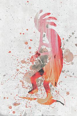 10797 Kokopelli Art Print