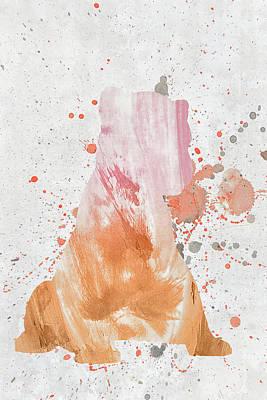 Mixed Media - 10798 Lion Cub by Pamela Williams