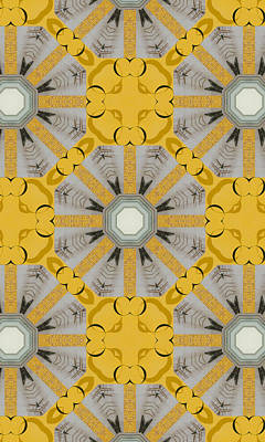 Target Threshold Nature - Pattern and Optics Art by Ricki Mountain