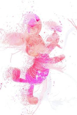 Mixed Media - 10800 Piglet by Pamela Williams