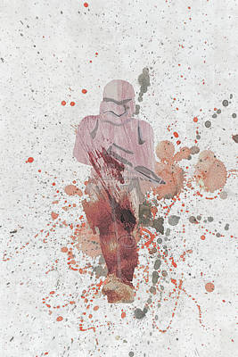 Mixed Media - 10809 Trooper by Pamela Williams