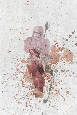 Galactic Mixed Media - 10809 Trooper by Pamela Williams