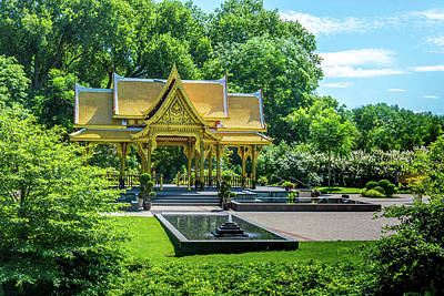 Photograph - 10824 Thai Pavillion by Pamela Williams