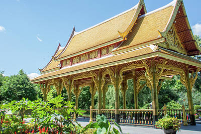 Photograph - 10825 Thai Pavillion by Pamela Williams
