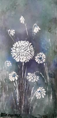 Painting - #1083 Wild Flower #1 by Linda Skibinsky