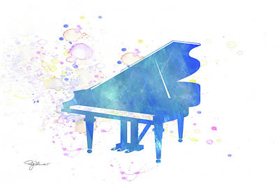 Mixed Media - 10832 Baby Grand by Pamela Williams