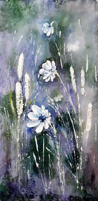 Painting - #1084 Wild Flowers #2 by Linda Skibinsky