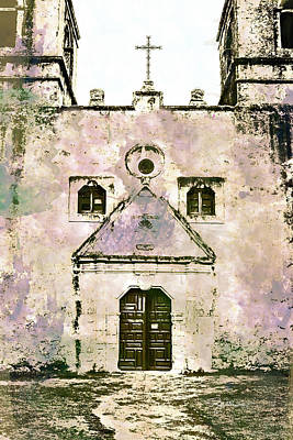 Mixed Media - 10852 Mission Concepcion by Pamela Williams