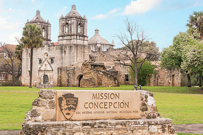 Photograph - 10854 Mission Concepcion by Pamela Williams