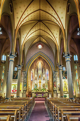 Photograph - 10871 St Joseph Catholic Church by Pamela Williams