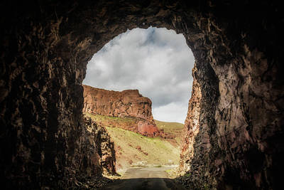 Photograph - 10888 Lake Owyhee Road Tunnel by Pamela Williams