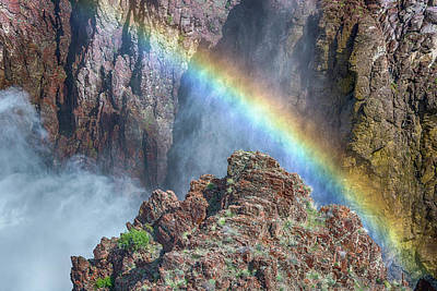 Photograph - 10890 Rainbow Over Owyhee by Pamela Williams