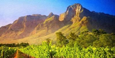 Sky Painting - Landscape Nature Scene by Margaret J Rocha