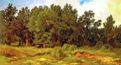 Twilight Painting - Nature Landscape Light by Edna Wallen