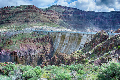 Photograph - 10916 Owyee Dam by Pamela Williams