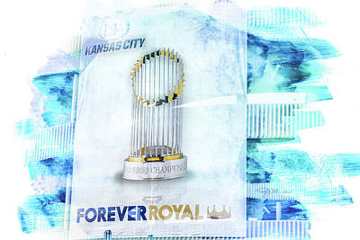 Photograph - 10922 World Series Trophy by Pamela Williams