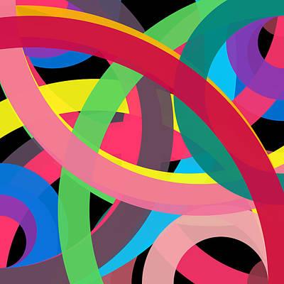 Drawing - 10946 - Phi Word Circle by REVAD David Riley