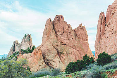 Photograph - 10948 Garden Of The Gods by Pamela Williams