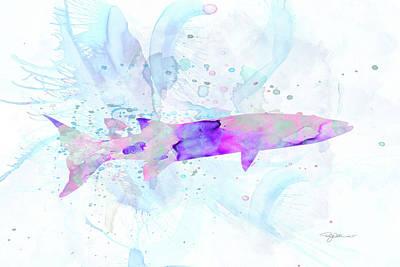 Digital Art - 10954 Barracuda by Pamela Williams