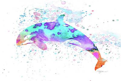 Digital Art - 10956 Killer Whale by Pamela Williams