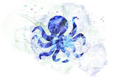 Digital Art - 10958 Octopus by Pamela Williams