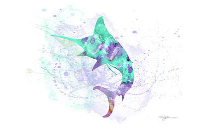 Digital Art - 10961 Swordfish by Pamela Williams