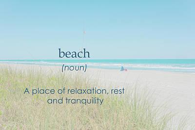 10967 Beach Tranquility Art Print