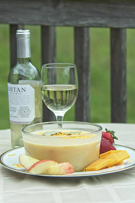 Photograph - 10979 Wine And Cheese Soup by Pamela Williams