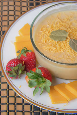 Photograph - 10981 Cheese Soup by Pamela Williams