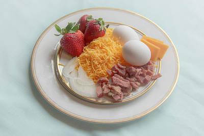 Photograph - 10983 Breakfast Ingredients by Pamela Williams