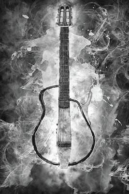 Photograph - 10984 Guitar by Pamela Williams