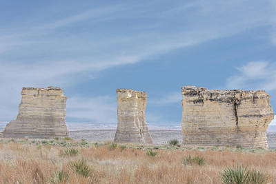 Photograph - 10995 Monument Rocks by Pamela Williams