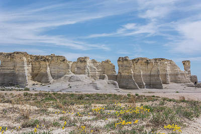 Photograph - 10997 Monument Rocks by Pamela Williams