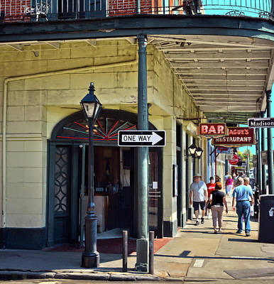 10am - Corner Of Madison And Decatur Streets - New Orleans Art Print by Greg Jackson