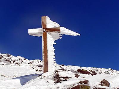 Photograph - 10th Cross On Mount Brandon Dingle by Noel O Neill