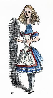 Painting - Alice In Wonderland by Granger