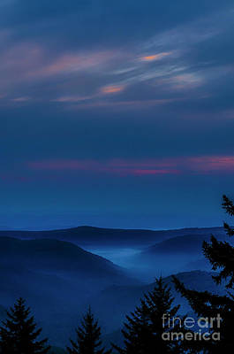 Photograph - Allegheny Mountain Dawn by Thomas R Fletcher
