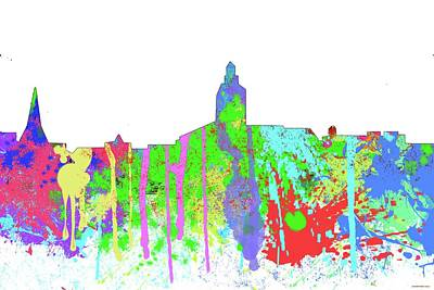 Digital Art - Annapolis Maryland Skyline      by Marlene Watson