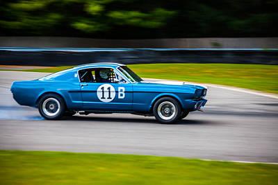 Photograph - 11 B Mustang by Karol Livote