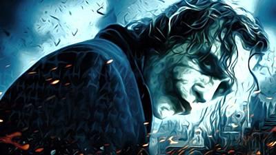 Batman Digital Art - Batman In Art by Egor Vysockiy
