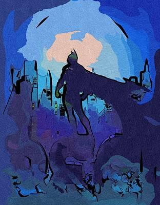Batman Digital Art - Batman To Print by Egor Vysockiy
