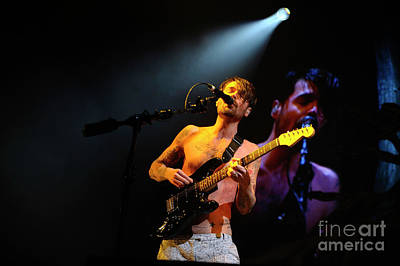 Photograph - Biffy Clyro  by Jenny Potter